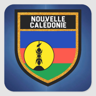 New Caledonia Flag Square Sticker
