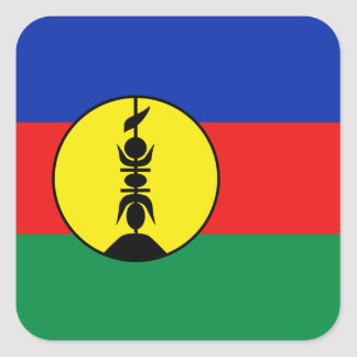 New Caledonia Flag Sticker