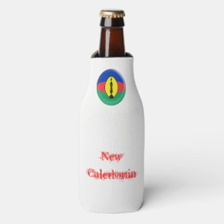 New Caledonia New Caledonian Flag Bottle Cooler