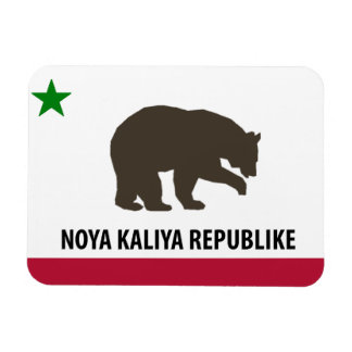 New California Republic Flag Magnet