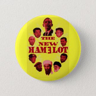 New CamelotA 6 Cm Round Badge