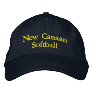 New Canaan Softball Hat Embroidered Hat