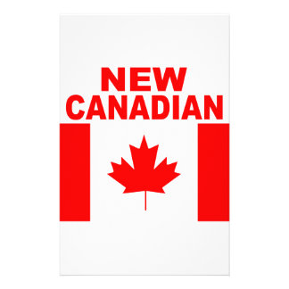 NEW CANADIAN STATIONERY