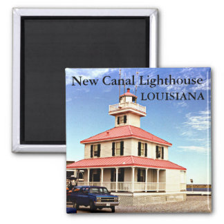 New Canal Lighthouse Louisiana Magnet