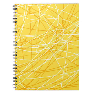 New canary yellow pattern trend 2014 accessories notebook