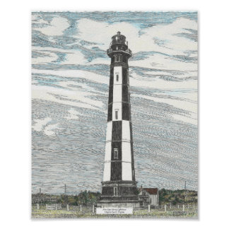New Cape Henry Lighthouse Poster