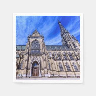 New Cathedral, Linz, Austria Paper Napkin