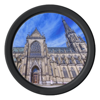 New Cathedral, Linz, Austria Poker Chip Set