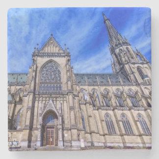 New Cathedral, Linz, Austria Stone Coaster