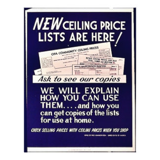 New Ceiling Price Lists Are Here Flyers