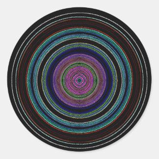 new circles round sticker