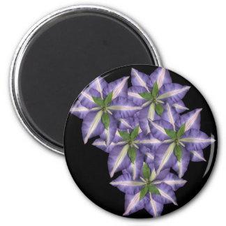 New Clamatis 6 Cm Round Magnet