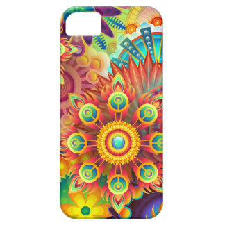 New Colorful Abstract BackGround Barely There iPhone 5 Case