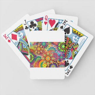 New Colorful Abstract BackGround Bicycle Playing Cards
