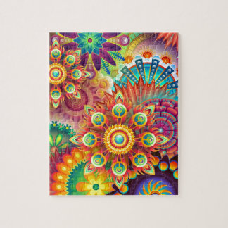 New Colorful Abstract BackGround Jigsaw Puzzle