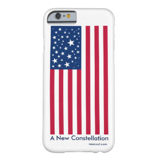 New Constellation American Flag iPhone 6 case Barely There iPhone 6 Case