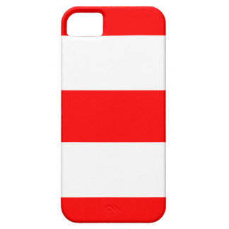 New Cool Red & White iPhone 5 Case