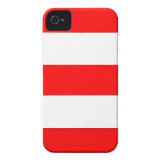 New Cool Red & White iPhone Case iPhone 4 Covers