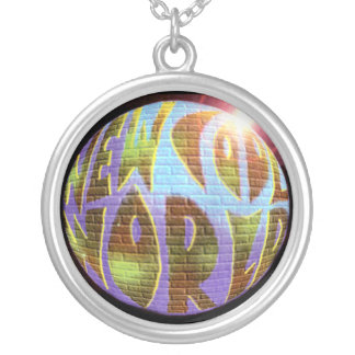 New Cool World LOGO Necklace