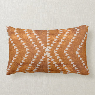 New Copper Look Arrows Textured Pillow