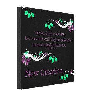 New Creation Canvas Prints