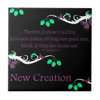 New Creation Small Square Tile