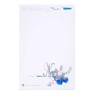 New creation personalized stationery