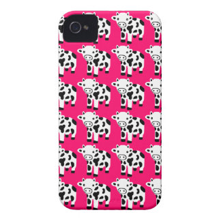New Cute Hot Pink Cow Blackberry Case Gift