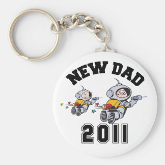 New Dad 2011 Key Chain