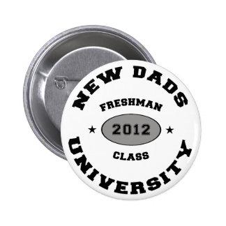 New Dad 2012 6 Cm Round Badge