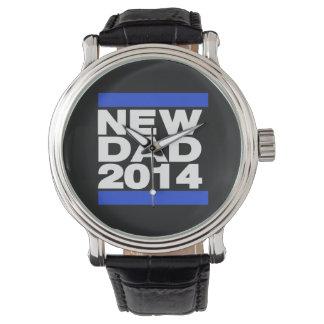 New Dad 2014 Blue Wrist Watches
