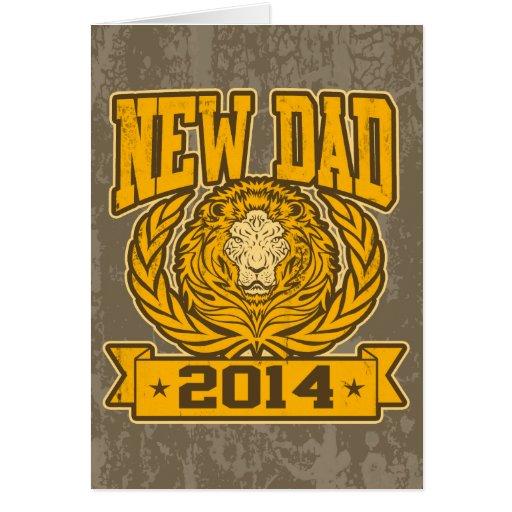 New Dad 2014 Greeting Card