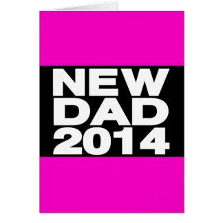 New Dad 2014 Lg Pink Card