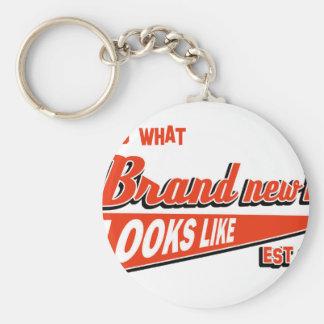 new dad design key ring