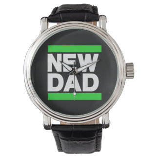New Dad Green Wrist Watches