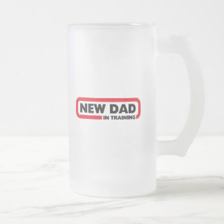 New Dad in Training - A Beer Mug for Dads