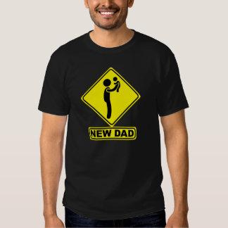 New Dad Signboard Tees