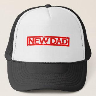 New Dad Stamp Trucker Hat