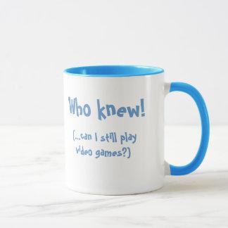New Dad/Wow!  I'm someone's Daddy!-Humor Mug