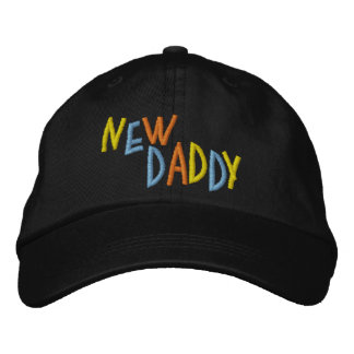 New Daddy Embroidered Hats