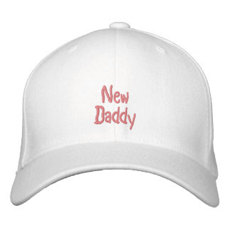 New, Daddy-Pink(Girl)-Embroidered Hat Embroidered Baseball Caps