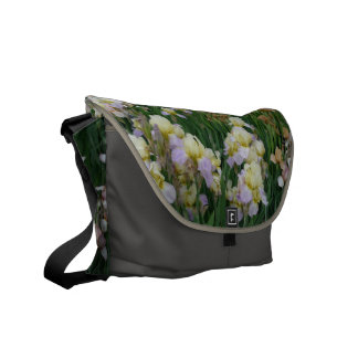 New Day Gardens Saddle Bag- Irises 'Enriched' Commuter Bags
