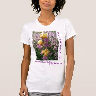 New Day Gardens Shirt- iris 'Glowing Volcano' T-Shirt