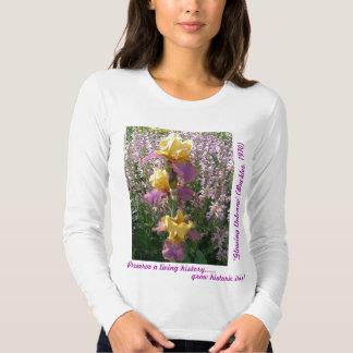 New Day Gardens Shirt- iris 'Glowing Volcano' Tshirts
