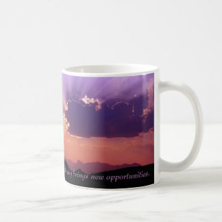 New Day - Large  by TDGallery Coffee Mug