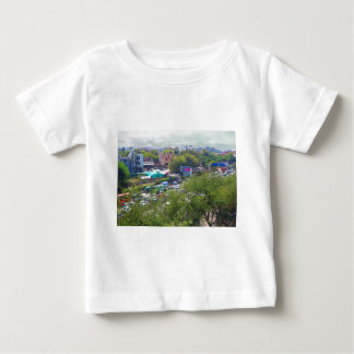 New Delhi India Traffic views from Metro Railways Baby T-Shirt