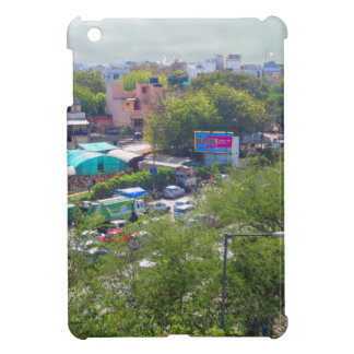 New Delhi India Traffic views from Metro Railways Cover For The iPad Mini