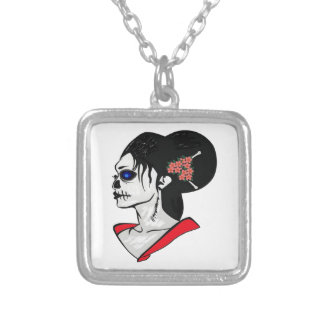 NEW DIRECTION SILVER PLATED NECKLACE