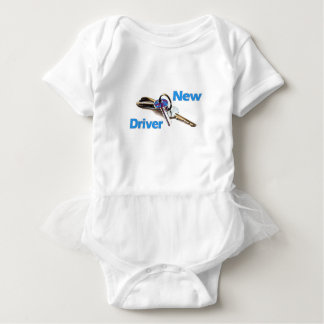 New Driver Baby Bodysuit