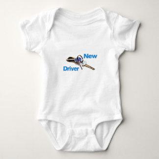 New Driver Baby Bodysuit